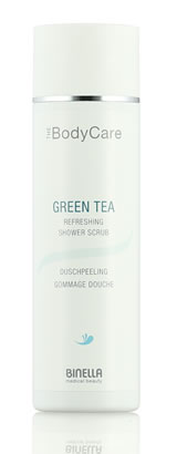 Binella BodyCare - Green Tea Refreshing Shower Scrub 200 ml