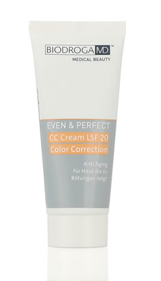 Biodroga MD Even & Perfect - CC Cream LSF 20 Color Correction 40 ml