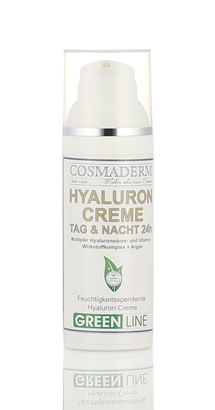 Green Line - Hyaluron Creme Tag & Nacht 24 h - 50 ml