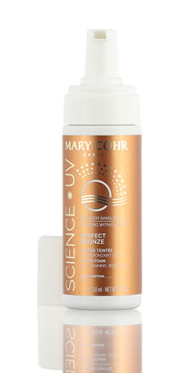 Mary Cohr Science UV - Perfect Bronze - Mousse Teintée Autobrozant Corps 150 ml
